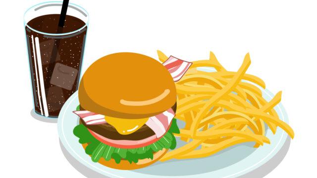 上野駅 ハンバーガー ランチ